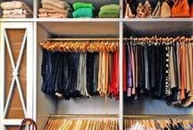 Closet Tips / Every season Your Closet needs an overhaul - take out some old and add some new.   Like a breath of fresh air! / by The Stylist Online