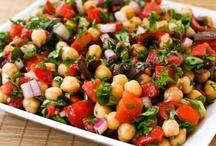 yummy salads / by Rocki Bosclair