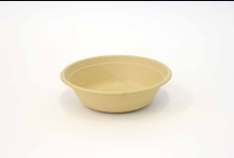 Biodegradable Bowls / Be Green Packaging offers a unique selection of biodegradable bowls that are perfect for restaurants and small businesses looking for a truly green solution to their food packaging needs.  Our recyclable and compostable bowls are made for a proprietary blend of plant fibers such as bulrush, bamboo and sugar cane, among others.  More info here: http://bit.ly/13WmaVj