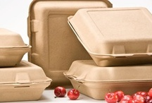 Biodegradable Clamshells / Be Green Packaging's industry leading biodegradable clamshell containers are extremely durable and can handle hot foods and liquids with ease.  Our extra thick clamshells will not sag or break and are conveniently microwave, oven and freezer safe.  More info here: http://bit.ly/127fem3 / by Be Green Packaging