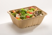 Biodegradable Utility Trays / Be Green Packaging's line of Utility Trays are our best selling products -- just like the name implies, these utility trays can be used for just about anything from food to gifts to spare change.  Perfect for takeout, salad and hot food bars and full meals on the go, these all-around utility trays can be repurposed to fit your needs.  More info here: http://bit.ly/19qmgoI