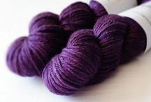 Pigeonroof Yarn / Handpainted, hand dyed yarn, for knitting or crochet, by PRS