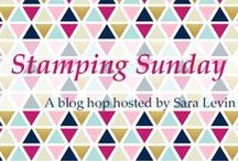 Stamping Sunday Blog Hop / Stamping Sunday Blog Hop occurs on the second and fourth Sunday of each month.  We'll be sharing creations to highlight various Stampin' Up! products in our own personal styles.  You can see stamps, dies, cards, boxes, 3d, decor and more.  #stampingsunday, rubberstamps, handmade, cards, stampinup, su, Start the hop at theartfulinker.com