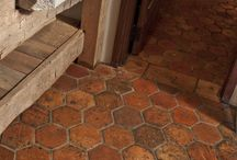 Ceramic Tiles / Earthenware, stoneware, porcelain, greenware... Two dimensional ceramic structures.