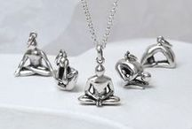 Yoga Necklaces ॐ / Breath in, and relax... Feel chilled and at peace with our range of Yoga style Necklaces.