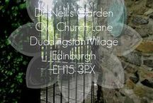 Dr Neil's Garden, Edinburgh / A tranquil, terraced garden by Duddingston Loch.