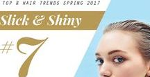 2017 Spring Hair Trend: Slick and Shiny