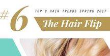 2017 Spring Hair Trend: The Hair Flip