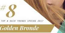 2017 Spring Hair Trend: Golden Bronde