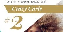 2017 Spring Hair Trend: Crazy Curls / #CrazyCurls #Curls #2017SpringHairTrend #HairTrends #Fashion #Style #HairStyle #Spring2017 #Beauty