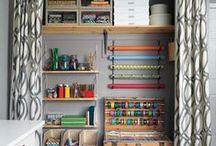 Craft Room Ideas / by Erin Ricks