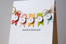 Birthday Cards / Handmade Birthday Card Ideas / by Jessica Taylor