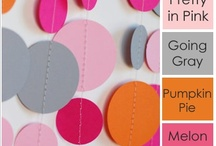 Color Inspiration / Great color combinations to inspire creativity in card making, scrapbooking and all papercrafts.