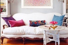 living spaces + gallery walls / decorating living rooms, family rooms, offices etc / by Suzanne Johnson