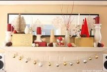 Winter Wonderland / Christmas, and wintery décor and craft ideas