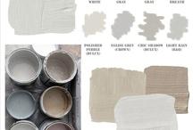 Paint colors/ Color palettes