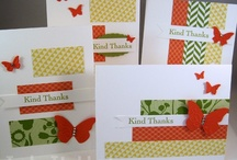 Thank You Cards / Sending thank you cards is a lost art that needs to be revived.  This board is for ideas for handmade thank you cards.