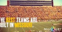 Missouri Football / Whether you are an eastern or western Missourian, you have it made! You can see an NFL game whenever you choose with the Kansas City Chiefs and the St. Louis Rams.