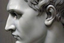 Statuary & Sculpture / I find great beauty in large, life-size or greater than life-size Greek-style statuary and artistic sculpture. I enjoy abstract & modern but neoclassic Greco-Roman always catches my eye. As do many other objets d'art not necessarily in these categories, as you see...