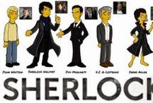 Sherlock Goodness / The BBC program 'Sherlock' with Benedict Cumberbatch is a gem!