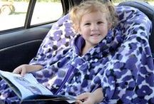 Elaine Searer Etsy Shop / Specializing in Fleece Car Seat Ponchos for Children, Full Coverage Bibs, and fun pillowcases.
