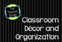 Classroom Decor and Organization / Ideas to keep my classroom space looking and functioning well!  Bulletin boards, projects, organization tips and resources, storage ideas, classroom design and planning, fun products and items to make your classroom a home where every object has a place!