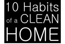Cleaning & Organization Tips / We all need magic tricks when cleaning & organizing our home! Here is my collection.