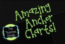 "Amazing Anchor Charts:The Teacher Studio / A collection of great anchor charts and anchor chart ""tips"" to inspire you!   Find anchor charts for every subject and purpose...reading, writing, math, science, social studies, speaking, listening, grammar, mechanics, graphic organizers and more! / by The Teacher Studio"