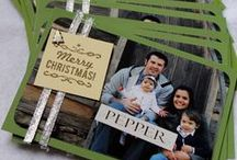 Christmas Photo Cards / Ideas for handmade Christmas photo cards. / by Jessica Taylor