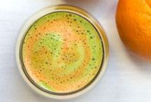 Healthy Juice Inspiration / Make juicing fun this January with these delicious recipe ideas
