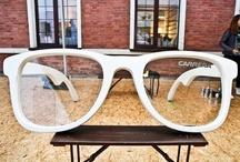 Gafas curiosas / #gafas llamativas , futuristas , extravagantes... / by ilovemisgafas.com