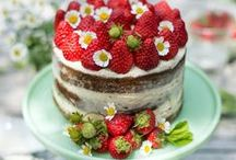 Strawberry Recipes / My absolute, favorite fruit!  / by Octoberbeauty