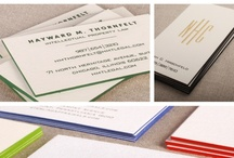 Stationery: Painted-Edge Cards