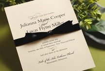 ALL NEW Weddings: Classic Ecru / by William Arthur Fine Stationery