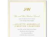 ALL NEW Weddings: Luxurious Embellishments / by William Arthur Fine Stationery