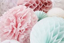 Wedding Colours / A collection of lovely colours and inspiration for helping you choose your wedding theme.