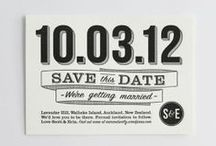 Wedding {save the date}
