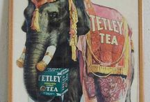 """Ads - Tea / """"You can never get a cup of tea large enough or a book long enough to suit me.""""  ~C. S. Lewis / by Sharon Watson"""