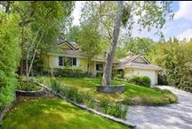"""4639 Louise Ave, Encino / A """"Design & Character"""" American Traditional on a large gated lot with mature trees. Featuring 3 bedrooms / 2.5 baths with wood floors, family / great room, """"Wood Mode"""" kitchen and beach entry pool."""