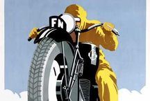 """Ads - Motorcycles / """"Four wheels move the body, two wheels move the soul."""" / by Sharon Watson"""