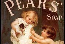 "Ads - Soap (Vintage) / ""Rub-a-dub-dub"" / by Sharon Watson"