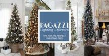Christmas Interior Inspiration! #PagazziPreparations / Christmas decoration inspiration for your home and garden spaces.