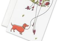 Cats & Dogs / Designed to accompany the purr-fect message. / by William Arthur Fine Stationery