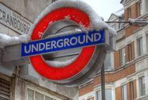 Ads - Underground, Tube, Metro, Subway / by Sharon Watson