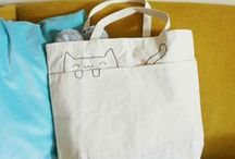 Sewing bags - clutch....