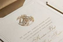 Real Weddings / Brides and their lovely William Arthur and Vera Wang Papers wedding stationery. / by William Arthur Fine Stationery