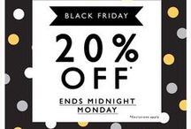 Black Friday Emails / Inspirational email ideas for Black Friday! Find out how we can help you with your online marketing at http://www.freshrelevance.com