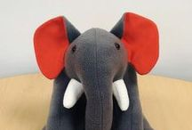 Frellie the Elephant / Frellie the Elephant is the Fresh Relevance mascot. Check out her adventures at https://instagram.com/freshrelevance  (Frellie was made by Nelly Blue Crafts)