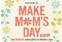 Mother's Day / Inspirational email ideas for Mother's Day! Find out how we can help you with your online marketing at http://www.freshrelevance.com