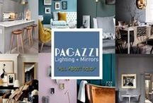 PAGAZZI Must Haves... All About Gold / Embrace your inner magpie and introduce a dash of decadence to your home. Following the huge surge in demand for copper accessories and light fittings in 2015, interior experts have forecast that 2016 will see gold dominate the interior landscape. A sign of wealth and elegance, gold can offer the opportunity for bold colour pairings (think a turquoise feature wall and beautiful gold accessories to get your imagination going).
